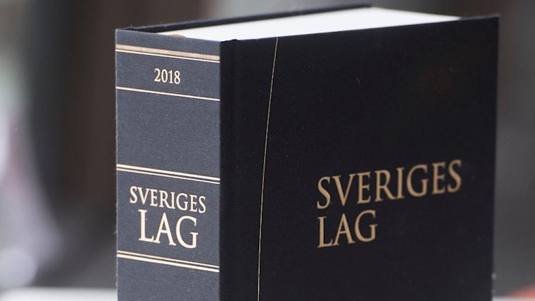 Lagboken Sveriges Lag.