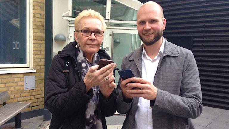 Liisa Flodin ja Ilkka Rasi