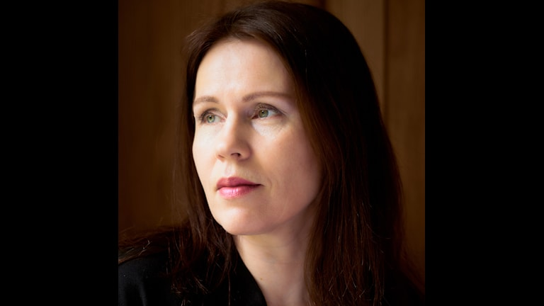 Kirjailija Tiina Laitila Kälvemark