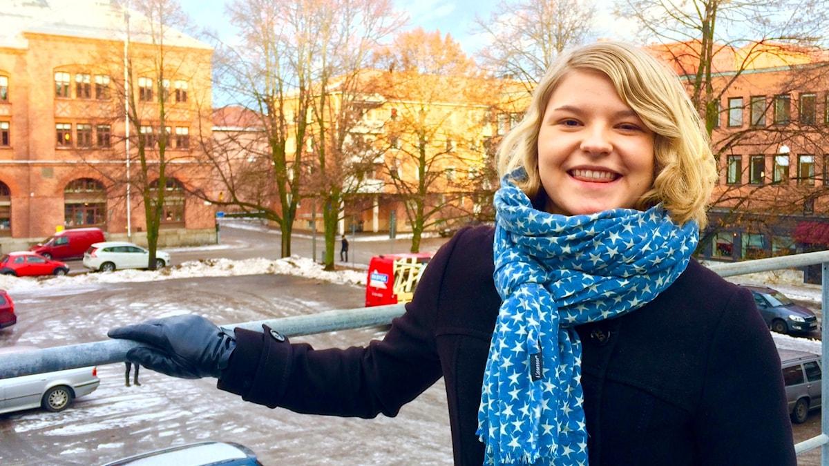 Jääkiekkopelaaja Helen Puputti on Brynäs IF:n hyökkääjä.