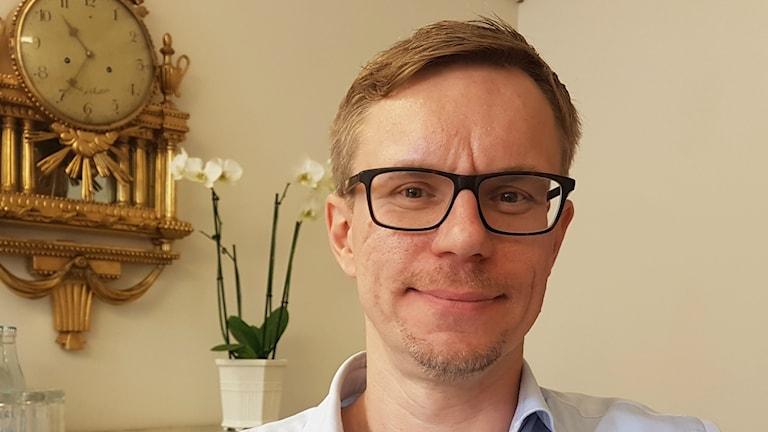 Päästrategi Jussi Hiljanen SEB-pankista.