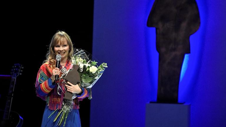 Lasten- ja nuortenkirjallisuuden vuoden 2016 August-palkinnon voittaja Ann-Helén Laestadius