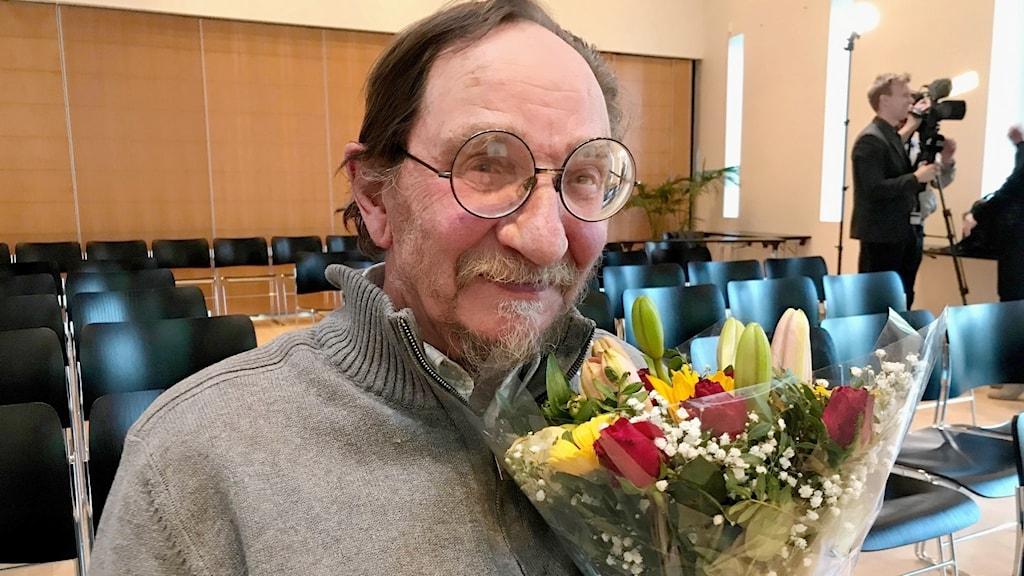 Vuoden ruotsinsuomalainen taitelija 2019 Pekka Sarnus.