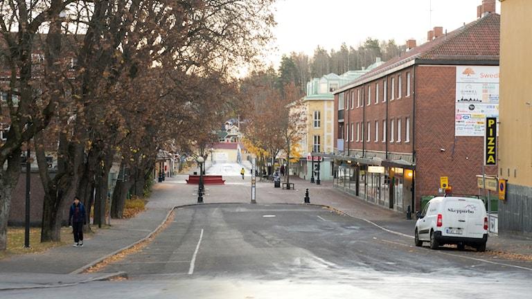 En gata i Söderhamn