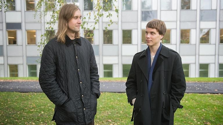 Man Duo består av Jaakko Eino Kalevi och Sami Toroi