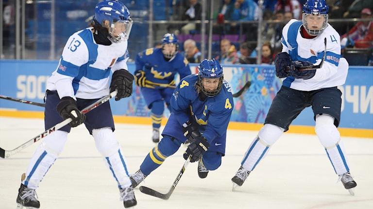 Naisten jääkiekko-ottelu Sotshin olympialaisissa 2014