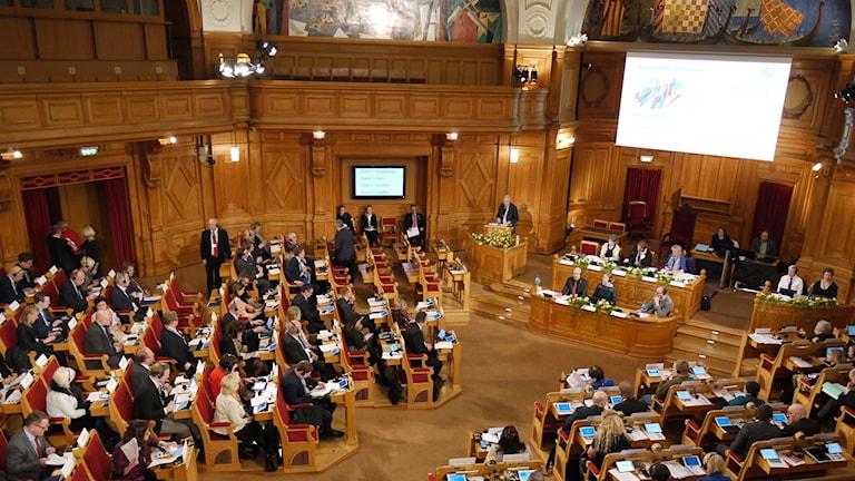 Pohjoismaiden neuvosto kokoontui Tukholmassa.