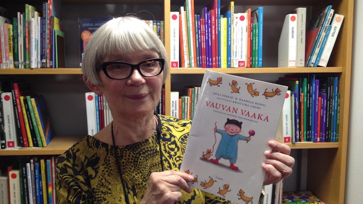 Kirjastonhoitaja Liisa Eklund