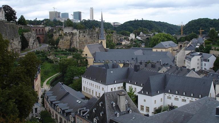 Maisemaa Luxemburgista
