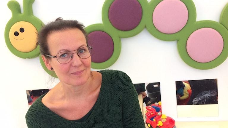 Sosiaalipedagogi Heidi Kujala.