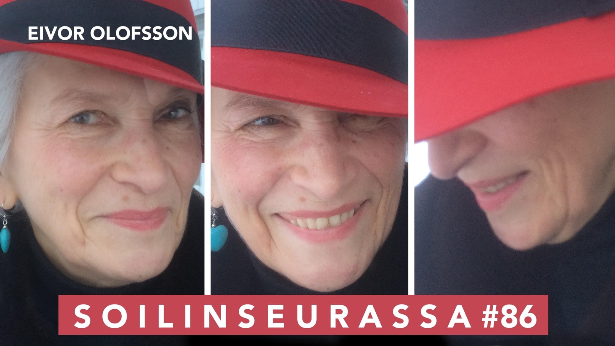 Soilin seurassa pohjoisen vahva nainen Eivor Olofsson