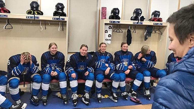 Finska U18 damhockeylandslaget