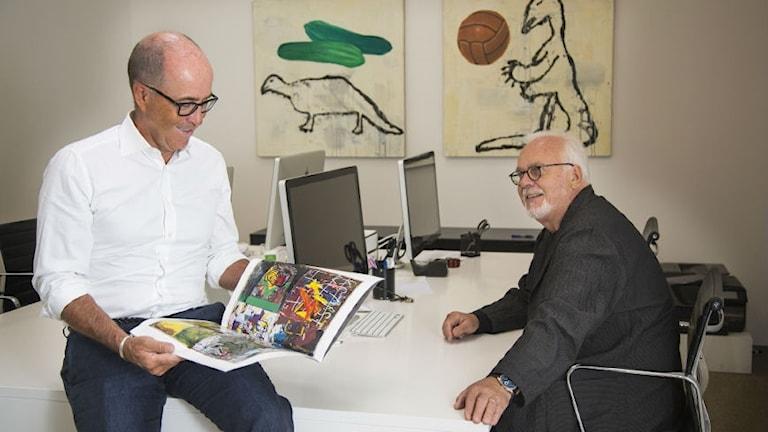 Jan Hansen and Kaj Forsblom