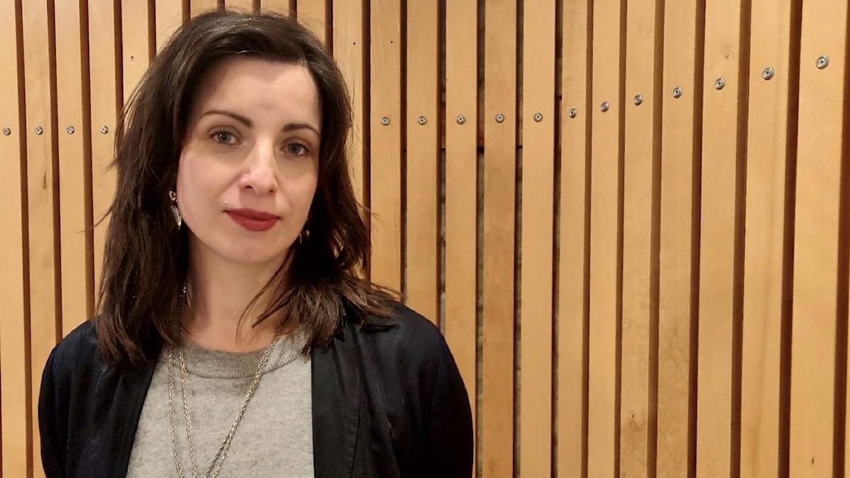 Kirjailija Nina Wähä