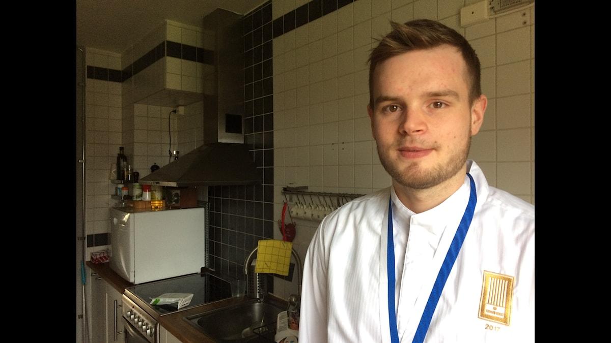 Mattias Åhman, årets kock 2017 i sitt eget kök