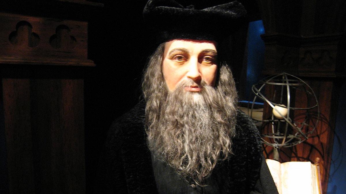 1500-luvun ennustaja Nostradamus.