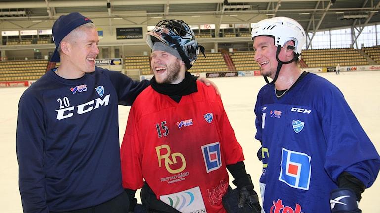 IFK Vänersborgin suomalaiset (Liukkonen, Kyllönen, Lukkarila)