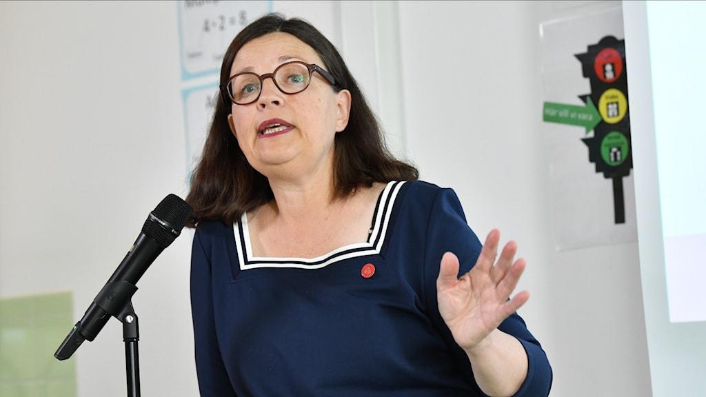 Koulutusministeri Anna Ekström