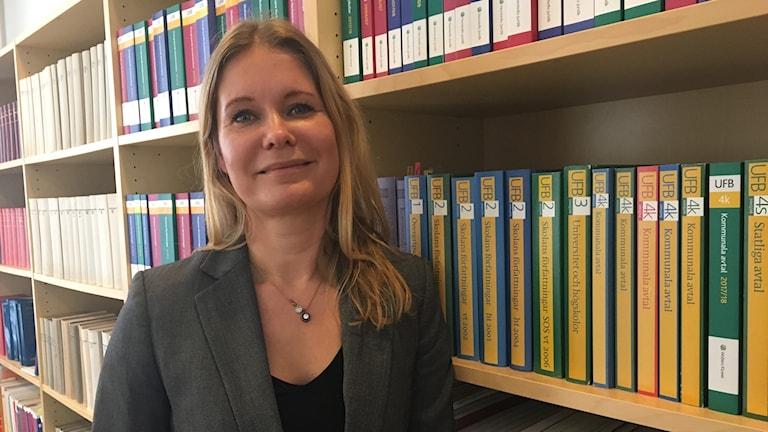 Katariina Treville, erityisasiantuntija Lärarnas Riksförbund