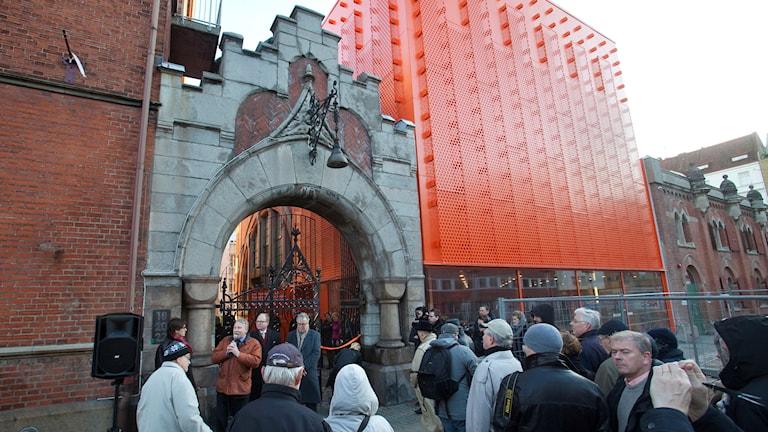 På bilden Moderna Museet i Malmös invigningsceremoni från år 2009.