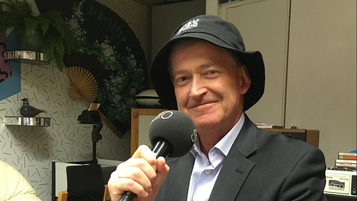 Ruotsin suurlähettiläs Helsingissä, Anders Ahnlind Sisu-lakissa Iltapäivän studiossa