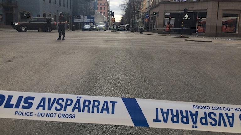 Tukholman keskustaa