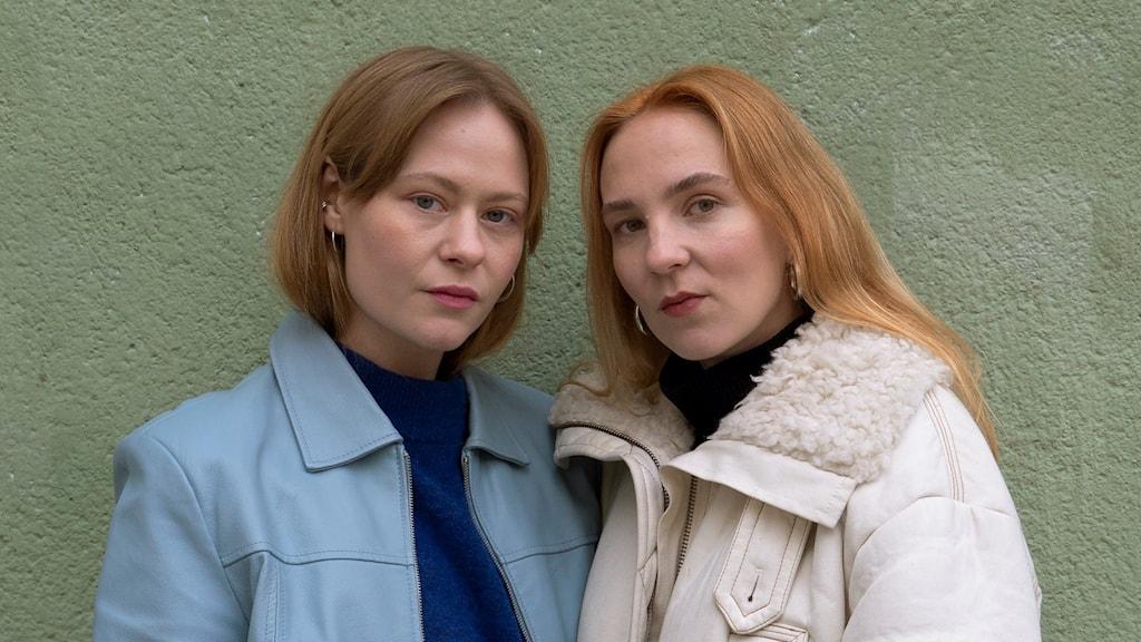 Fr.v: Lia Hietala & Hannah Reinikainen