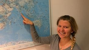 Annukka Pekkarisen väitöstutkimuksen kenttätyöjaksot sijoittuivat Sri Lankan vesille. Hydrofonit äänittivät tietoa valaiden liikkeistä, mutta hän on itsekin viettänyt siellä kuukausitolkulla aikaa.