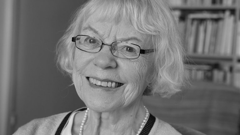 Kirjailija Aila Meriluoto.