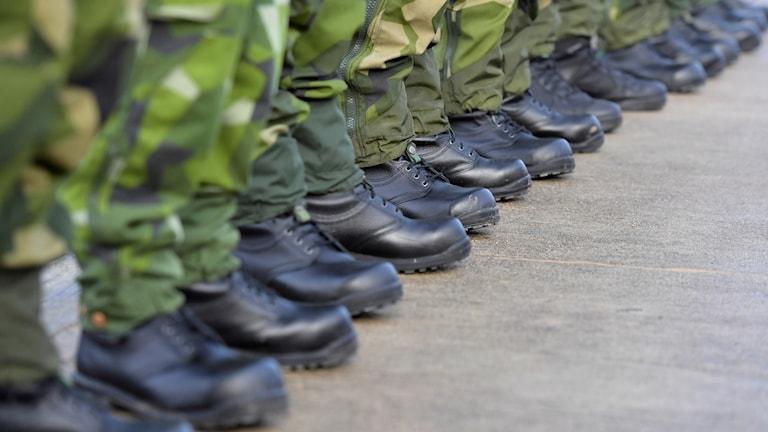 Sotilaiden maastokengät