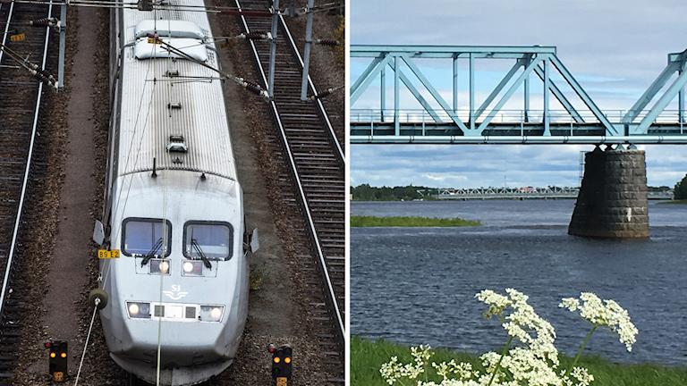 Tornionjoen ylittävä 100-vuotias ratasilta tulee joko sähköistää tai rakentaa uudelleen, ennen kuin Suomen ja Ruotsin välinen henkilöjunaliikenne voi alkaa.