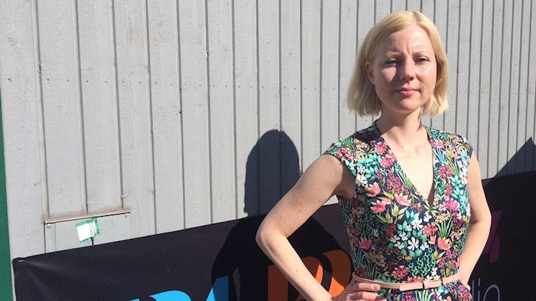 Journalisten Jessikka Aro som utsattes för en näthatskampanj