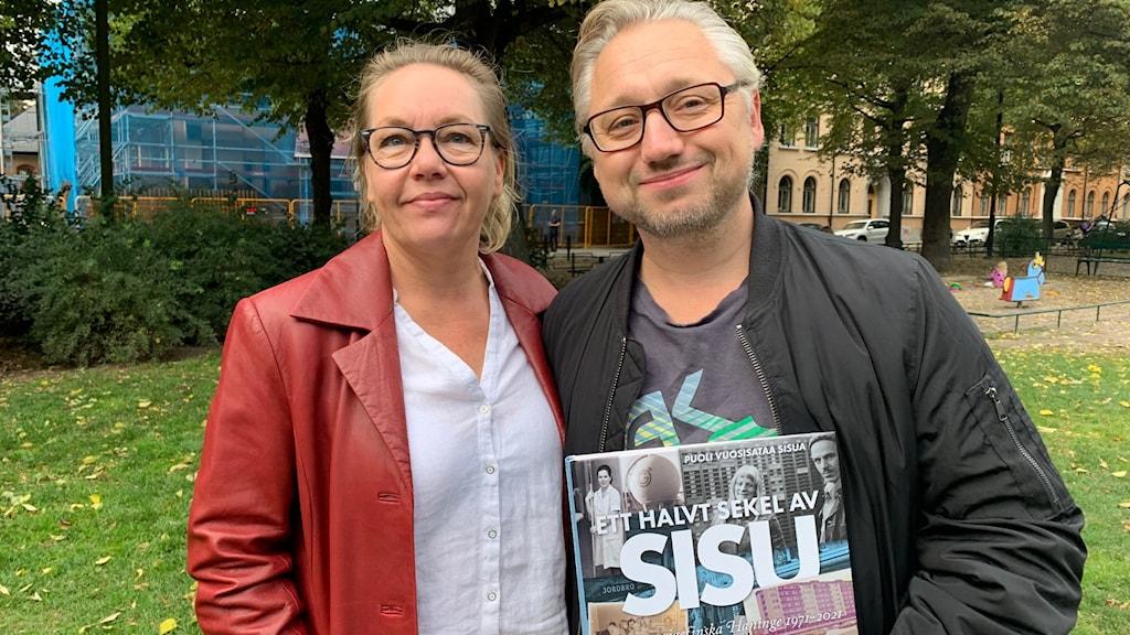 Sanna Rantamäki ja Kristian Borg