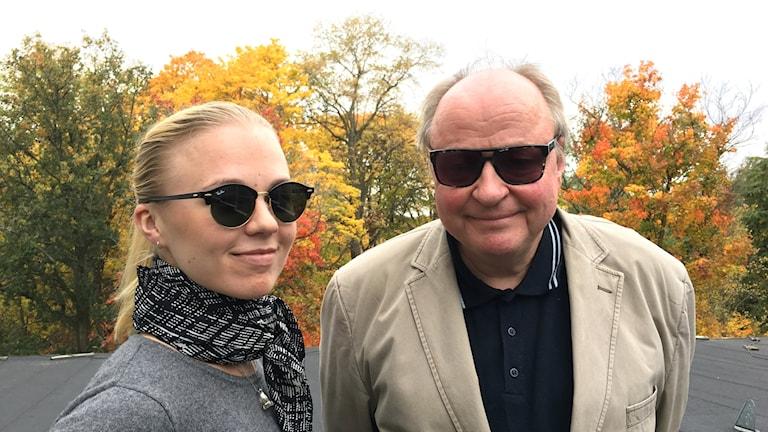 Matilda Peltonen ja Jorma Ikäheimo