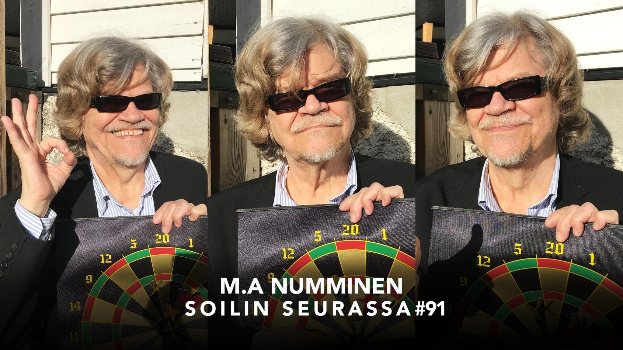 Viihteen ja kulttuurin monitoimimies M.A. Numminen: Jos piittaisin siitä, mitä muut ajattelevat, ensi olisi tässä asemassa missä nyt olen.