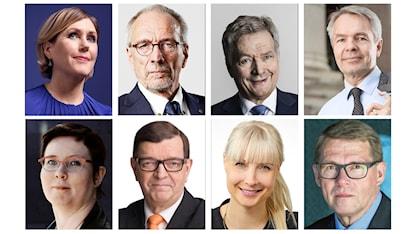 Finlands kandidater i presidentvalet 2018