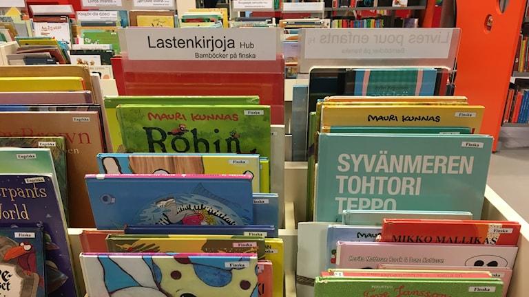 Suomalaisia lastenkirjoja