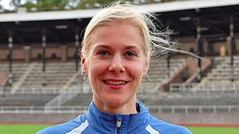 Juoksija Malin Liljestedt.