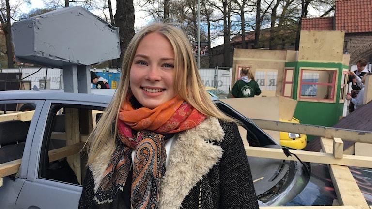 Livia Okra Dimle teknisen korkeakoulun kevättapahtumassa
