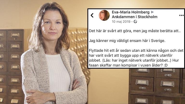 Eva-Maria Holmberg.
