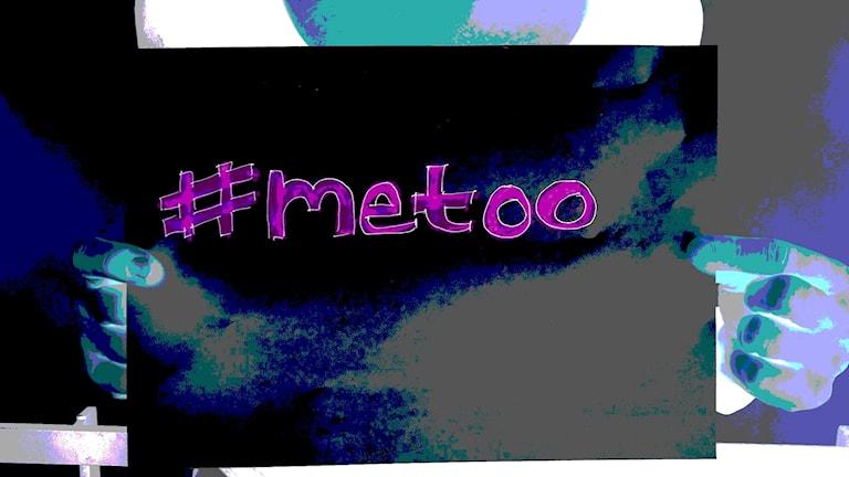 #Metoo -kampanja, kyltti