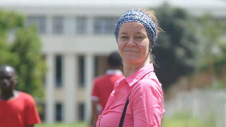 Anna Tainio i Kigali
