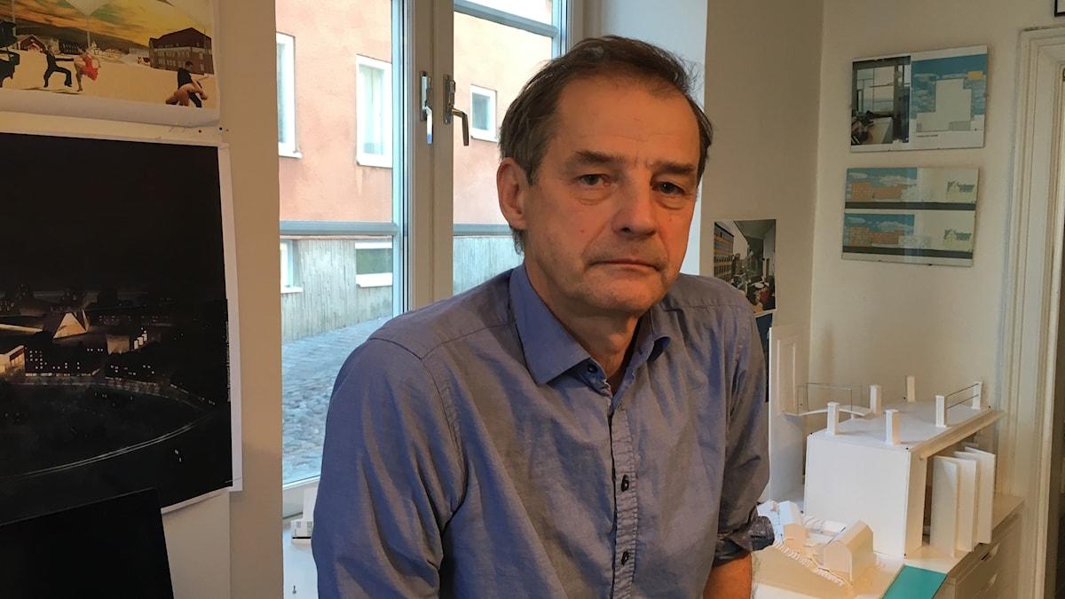 Arkkitehti Kai Wartiainen.