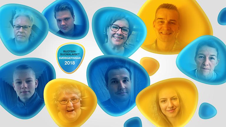 Yhteiskuva - Vuoden Ruotsinsuomalaiset 2018