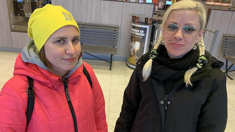 Mira Vainio Savilampi och Madeleine Valle
