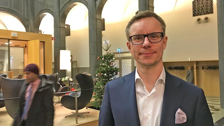 SEB:n päästrategi Jussi Hiljanen