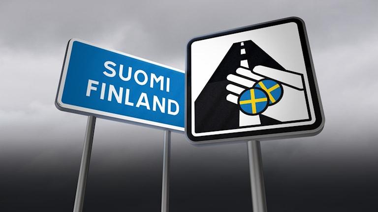 Finländska bilister fick felaktiga trängselskatter