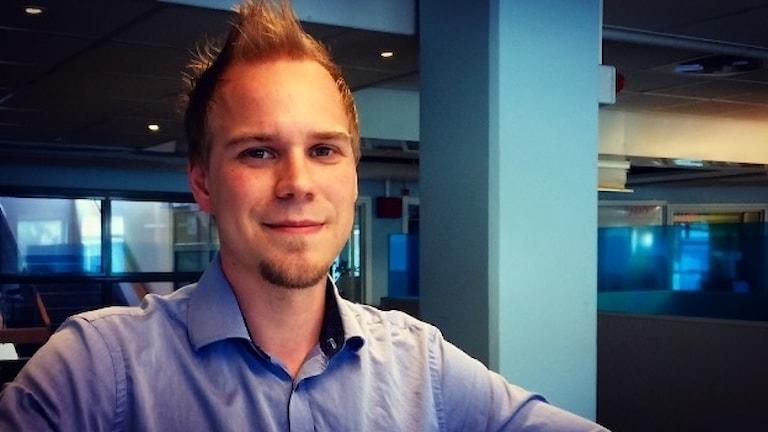 Daniel Törmänen työskentelee automaatioinsinöörinä.