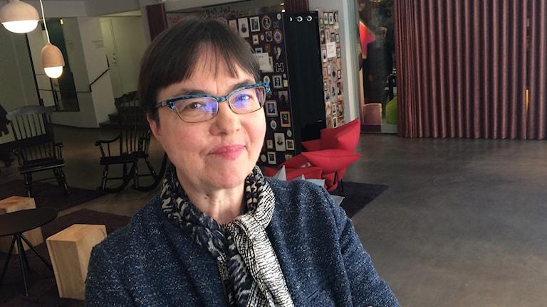 Helsingin muotoilujohtaja Anne Stenros Iltapäivän vieraana.