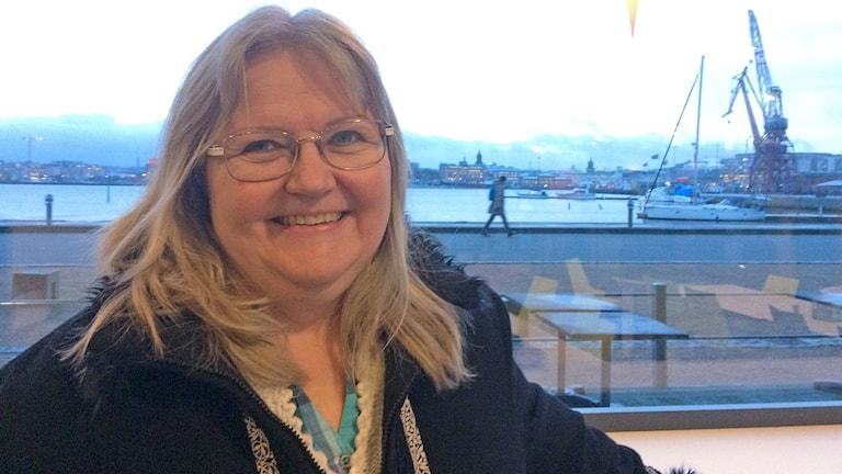 Singel i Sverige -yhdistyksen aktiivinen jäsen Anneli Huttu.